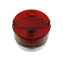 Rücklicht vollständig (Metallgehäuse) - BSKL (8522.11) ø100 mm für KR51/2, S50, TS150, TS250