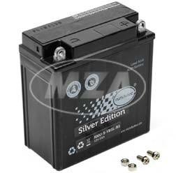AGM-Batterie 12V 5,0 Ah 12N5-3B für Simson SR50, SR80, S50, S51, S70, MZ ETZ 251, ETZ 301