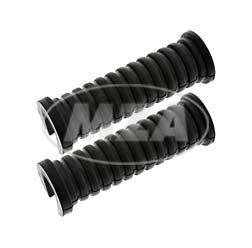 2x Fußrastengummis, moderne Form für MZ ETZ125, ETZ150, ETZ250, ETZ251, TS125, TS150, TS250