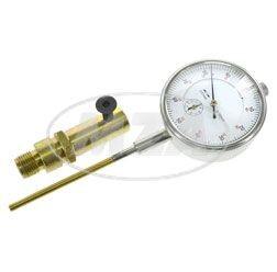 Messuhr zur Zündzeitpunkteinstellung für Zündkerzengewinde M14x1,25 Simson