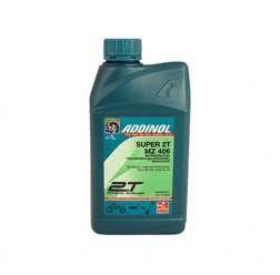 ADDINOL MZ406 SUPER, 2 Takt Motorenöl, raucharm, low smoke, teilsynthetisch, 1 L Dose