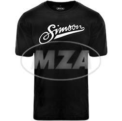 Simson T-Shirt, Farbe: schwarz, Größe: S, 100% Baumwolle