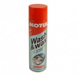 MOTUL Trockenreiniger, Wash & Wax, mit wenig Aufwand kratzfrei zu mehr Glanz 400ml Dose