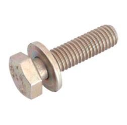 Sechskantschraube M8x30-8.8-A4C (DIN 933 Z1) - gelb chromatiert