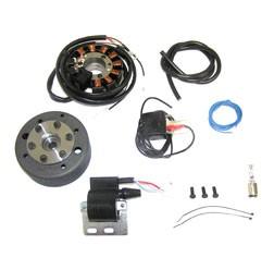 Powerdynamo Lichtmagnetzündanlage 12V 70W für SR1, SR2, SR2E, KR50