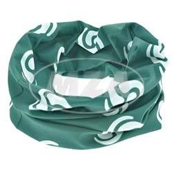 Simson Halstuch mit Wirbellogo weiß/billardgrün