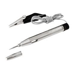 Kleine Prüflampe 6-24V, Metallgehäuse, Spannungsprüfer