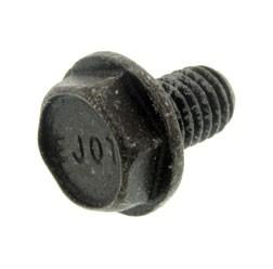Sechskantschraube M6X10-A4K (DIN 7500- D) - schwarz chromatiert - matt