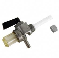 Kraftstoffhahn mit Wassersack mit 6mm-Schlauchanschluss für Simson S50 - S83,SR4-4, ETZ/ TS 150 - 25