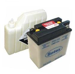 Batterie 6V 11Ah mit Batteriesäure für S50, S51, ES150, ES250, TS150, TS250