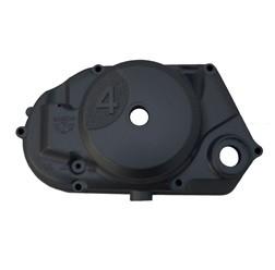 Kupplungsdeckel 4 Gang, schwarz mit Drehzahlmesser Antrieb für Simson S51, S53, S70, S83