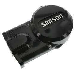 """Lichtmaschinendeckel schwarz mit """"SIMSON"""""""" Schriftzug für S51, S53, S70, S83, SR50, SR80, KR51/2"""
