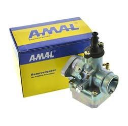 AMAL-Rennvergaser Ø18,00 mm - mit Produktheft Technik, Betriebsanleitung - Verstärkter Flansch!