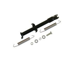 Set Seitenstütze Mokick SC/TS50 - für 16-Zoll Räder/ Fahrwerk - schwarz pulverbeschichtet - zweifach