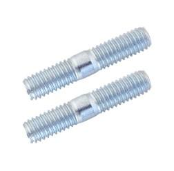 Paar Stiftschrauben M6x18 5.8 A4K DIN 835 für Vergaserflansch bei Simson & MZ
