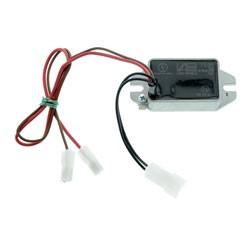 12 Volt-Regler mit Kondensator-Einheit als Ersatz für den einzelnen 12V-Gleichstromregler und Konden