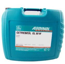 ADDINOL GL80W, Getriebeöl GL-3, mineralisch, 20 L Kanister