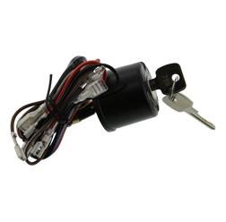 Zündschloss für Simson SR50, SR80 Ausführungen mit Lichthupe 8 Kabel