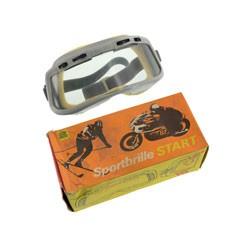 """Motorradschutzbrille Original DDR-Sportbrille Modell """"""""START"""""""" mit einstellbarer Belüftung"""