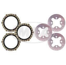 SET Kupplungsteile Regenerierung je 3x Kupplungsscheiben,Kupplungslamellen für SR2, KR50, SR4-1