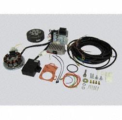 Powerdynamo Lichtmagnetzündanlage kpl. mit Kabelbaum passend für AWO425 Sport 12V 150W