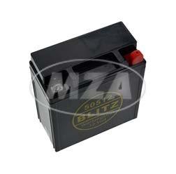 AGM Batterie wartungsfrei 12V 5,5Ah für Simson S50, S51, S70, SR50 Maße: LxBxH= 121x58x130 mm