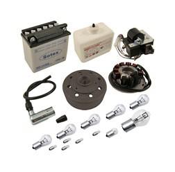 VAPE Umrüstsatz 12V 35/35W mit Batterie und Leuchtmittel für Simson SR50, SR80