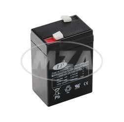AGM-Batterie 6V 6,0 Ah für Simson KR51/1, KR51/2, SR4-2, SR4-3, SR4-4, SR50