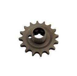 Kettenrad am Getriebe 16 Zähne für Seitenwagenbetrieb TS250/1