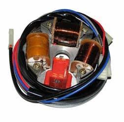 Elektronik Grundplatte N-8305.2/1-100 (12V 42/21W mit Halogen Scheinwerfer) für SR50/1, SR80/1C, CE,