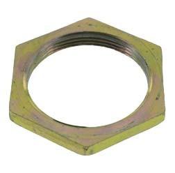 Sechskantmutter M28 x 1,0 Feingewinde, gelb chromatiert für Simson SRA50