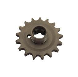 Kettenrad am Getriebe 17 Zähne ES 175/2, ES 250/2