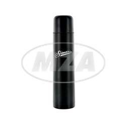 Simson Thermoflasche schwarz Fassungsvermögen 750 ml