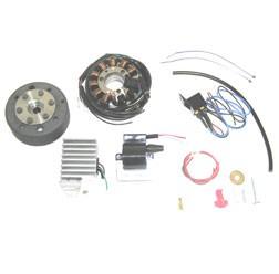 Lichtmagnetzündanlage 12V 100W Gleichstrom für MZ ES125, ES150, ETS125, ETS150, TS125, TS150