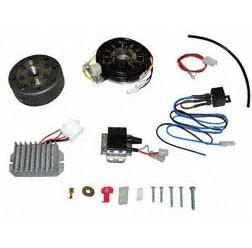 Vollelektronische Lichtmagnetzündanlage 12V 150W für MZ TS250, TS250/1