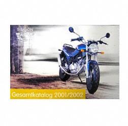 Alter Simson Fahrzeugkatalog Farbdruck von Simson Motorrad GmbH 2001/ 2002