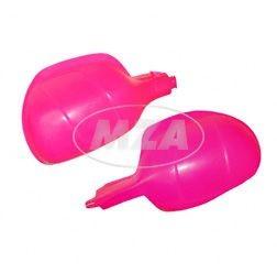 SET 2x Protektor - Lenkerhandschutz in pink