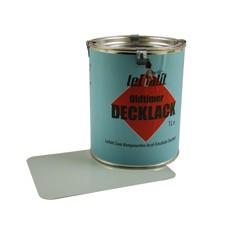 Lackfarbe Leifalit Premium Delphinblau (Papyrus) 1 Liter Dose