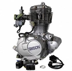 Komplettmotor Schikra CB 125M mit Vergaser, Lichtmaschine neu und originalverpackt