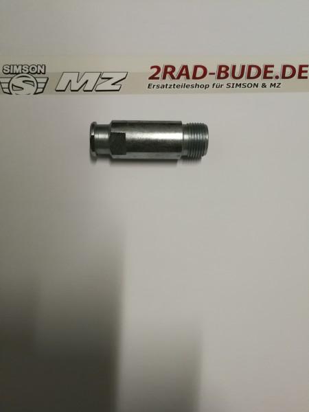 Kupplungszugaufnahme am Kupplungsdeckel bei ES175, ES250, TS250, ETZ250, ETZ251