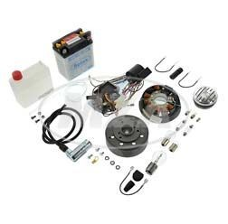 Umrüstsatz Zündanlage VAPE 12V 35/35 Watt mit Zubehör für Simson SR4-2, SR4-3, SR4-4