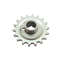 Kettenrad am Getriebe 18 Zähne TS 250