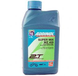 ADDINOL MZ405 SUPER MIX, 2-Takt-Mischöl, rot gefärbt, mineralisch, 1 L Dose