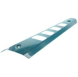 Hitzeschutz für kurzen Auspuff - S53/83 Beta - wasserblau pulverbeschichtet