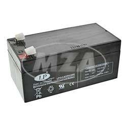 AGM Batterie Vlies wartungsfrei 12V 3,2 Ah für Simson KR51/1, KR51/2