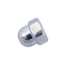 Mutter - Hutmutter M5-06-A4K (DIN 1587) - blau chromatiert