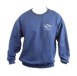 Simson Sweatshirt, Pullover, Farbe: Marineblau, Größe XXL - mit Reflexdruck Silber