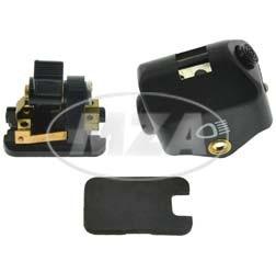 Abblendschalter kpl. mit Plastikkappe schwarz für Simson S50N, S51N, SR50N, MZ ES175/2, ES250/2