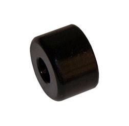Schwingungstilger außen, verkehrsschwarz - Lenkergewicht - Schikra 125/ 125 RS