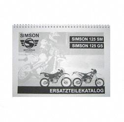 Ersatzteilkatalog Motorrad 125 SM/ GS - Enduro-/ Geländeversion